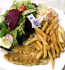 fish N chip salad