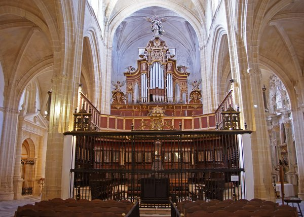 Choir and organ