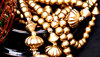 golden baubles and beads