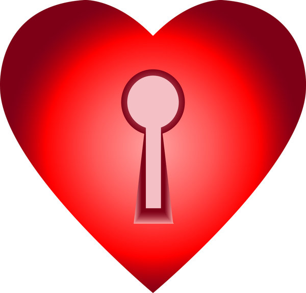 Key to the Heart: You'll need a key to open this heart!