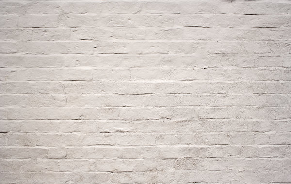 White Brick Wall: Painted brick wall texture.  Lots of copy space.