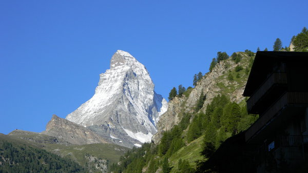 The Matterhorn!: Some shots of the Matterhorn just above Zermatt, Switzerland.