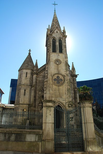 Gothic Church 3: Pestanas Gothic Church in Porto, Portugal