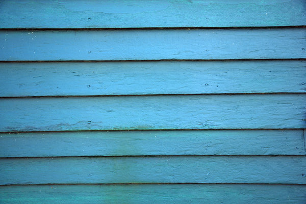 Painted Wood: Painted wood siding.
