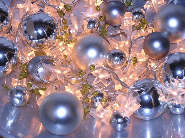 silver and gold: for decoration... with flash
