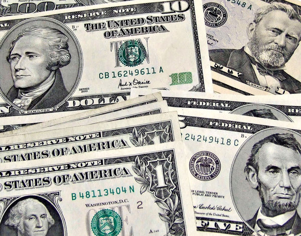 US currency: US currency
