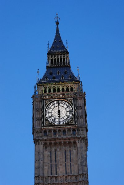 BigBen 1: Famous clock at twilight