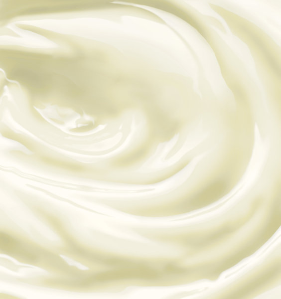 Milky swirl: Photoshop render of a milk swirl