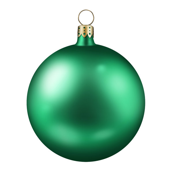 Xmas Balls 2: Colorful christmas balls (Photoshop illustration)