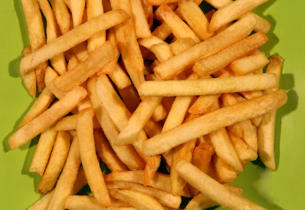 junk food: french fries