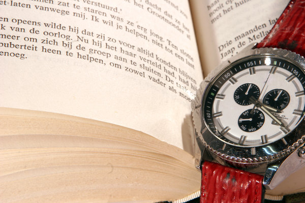book: book with watch
