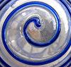 spiralling in blue