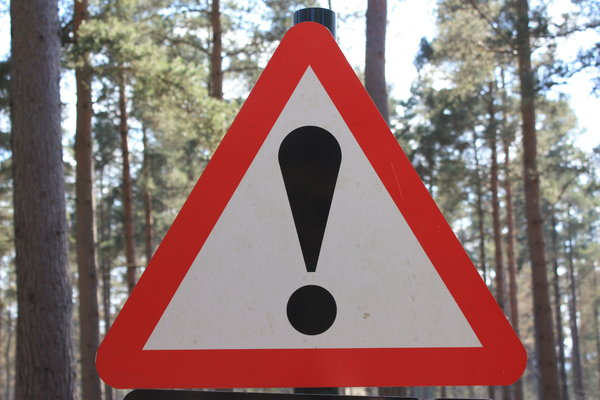 Warning!: Danger ahead...