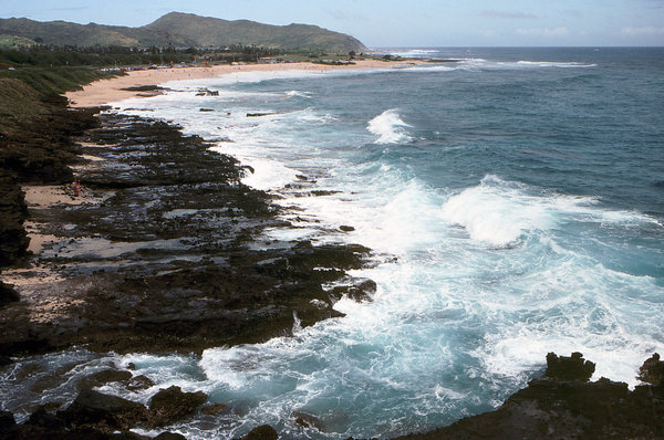 Pacific Ocean: The Pacific Ocean in Hawaii.