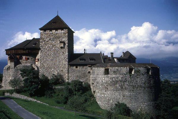 Vaduz Castle: The Vaduz Castle in Liechtenstein.