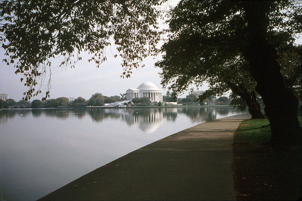 Jefferson Memorial: The Jefferson Memorial, Washington D.C.