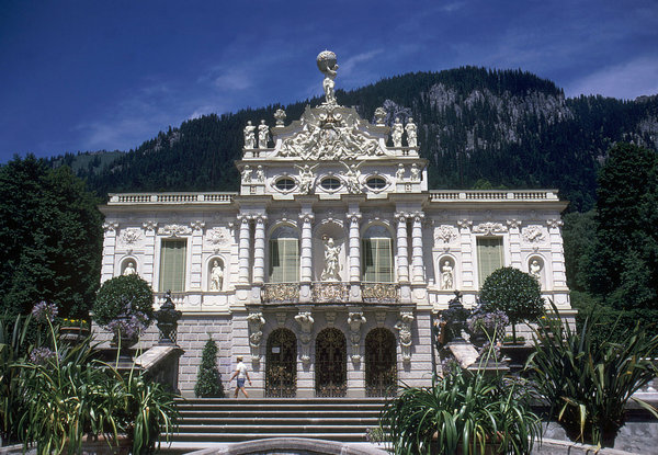 Linderhof Palace: Linderhof Palace in Germany.