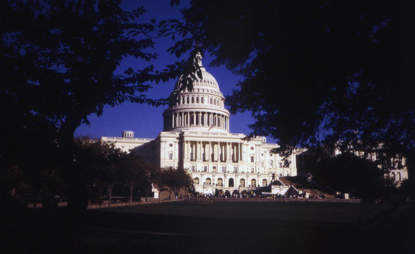 US Capital: United States Capital building in Washington D.C.
