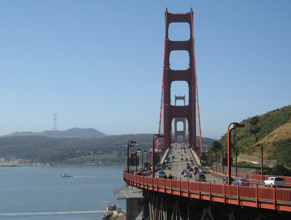 San Francisco bridge: San Francisco bridge in september