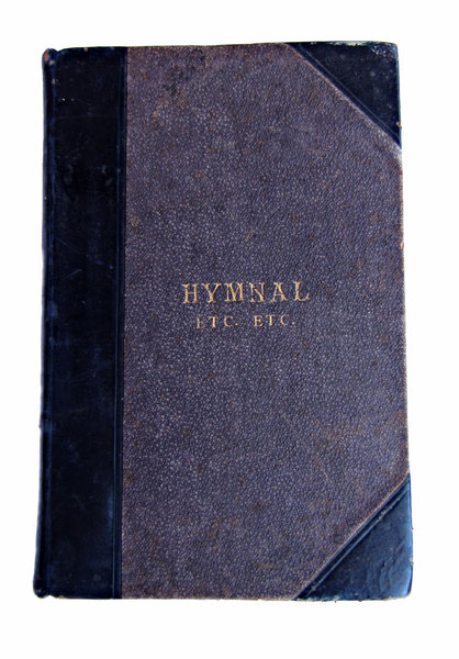more than hymns: old historic hymnbook with unusual title
