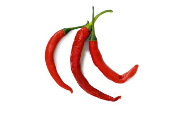 peppers: red chili peppers