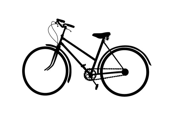 bicycle: a bike with handbrakes