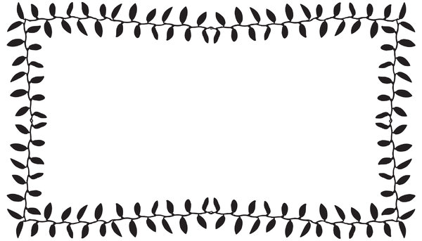 border Leaves: Adobe Illustrator CS5