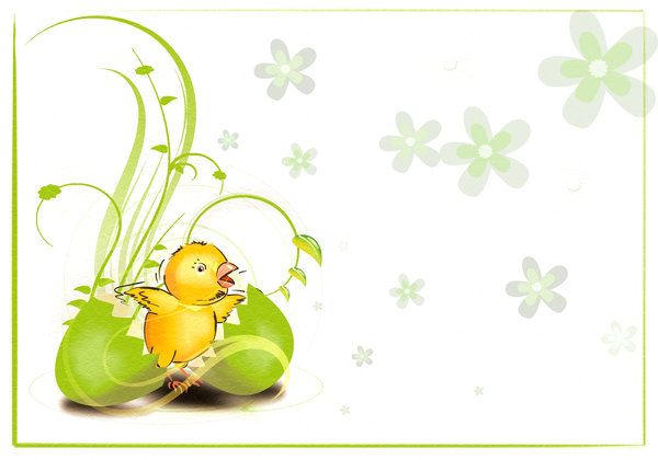 Easter cards: Easter cards to your own work in few versions