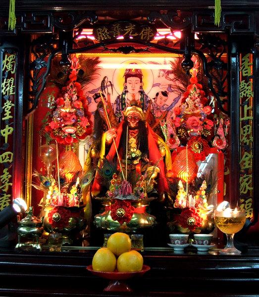 Sala de discoteca Asian Shrine