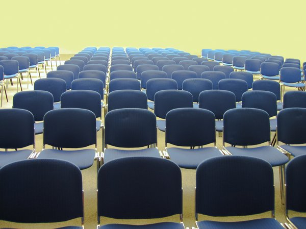 auditorium - lots of chairs: auditorium - lots of chairs
