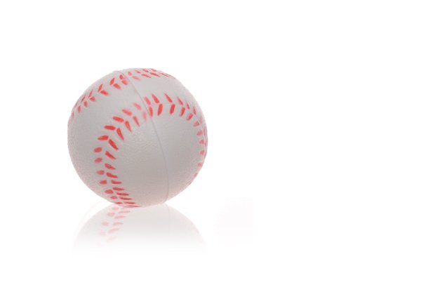 baseball: small plastic baseball