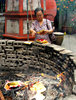 burning joss paper