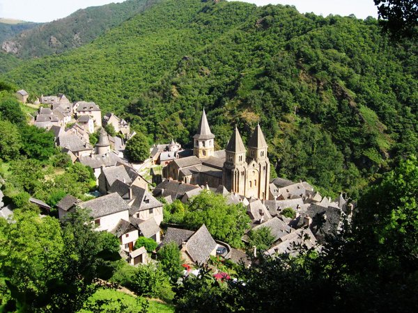 Sainte Foy: Sainte Foy, Conques,south France