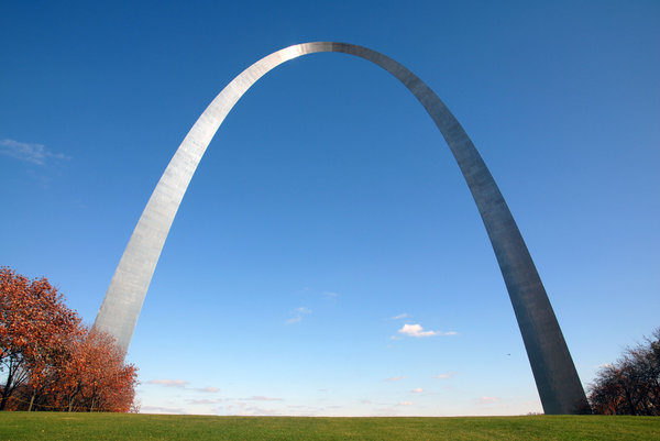 Gateway Arch: The Gateway Arch in St. Louis, Missouri.