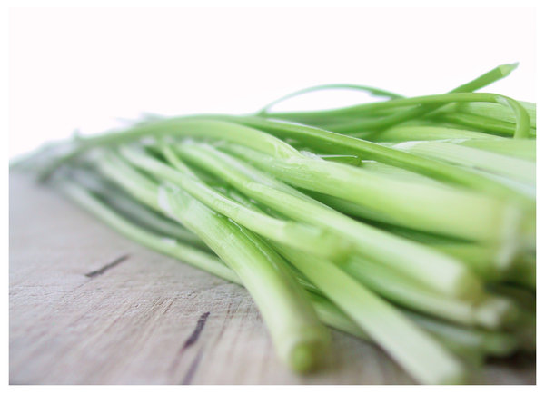 chives: .i love the smell of it...