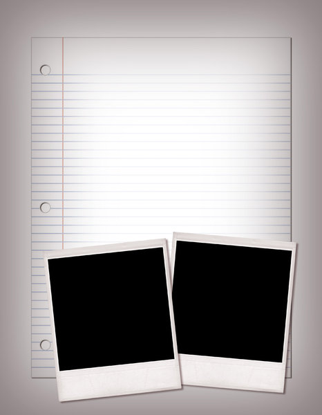 Lined Paper  4: Variations on a simple background with basic notebook paper. Visit me at Dreamstime: 