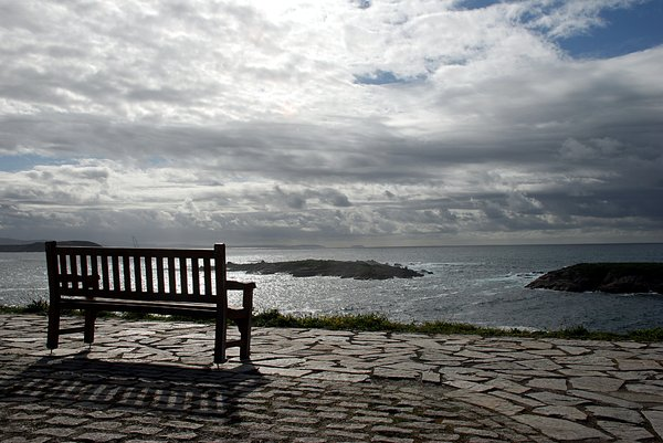 Bench to the ocean: Bench to the ocean