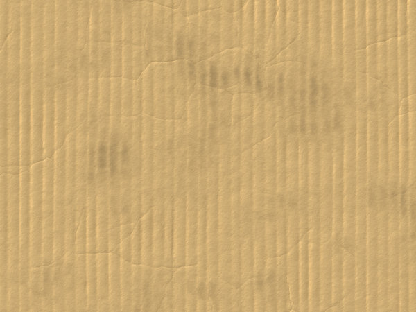 Cardboard: Old cardboard with corrugations and dirt. A very useful background, backdrop or texture. Can be edited as parchment or old paper.
