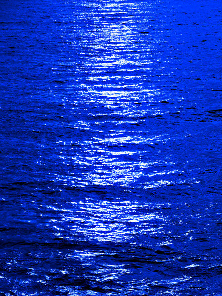 blue moon ocean reflection: abstract backgrounds, textures, patterns, geometric patterns, shapes and  perspectives from altering and manipulating images