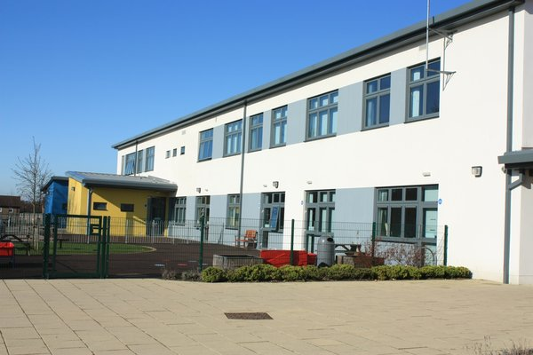 A modern school: A modern Scottish school building