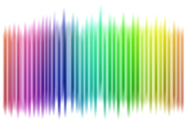 Multi colored stripes: rainbow stripes illustration