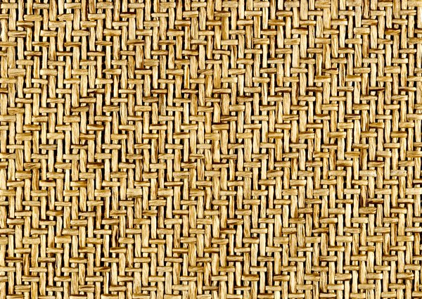 Basket Weave Texture: A section of woven wicker material.
