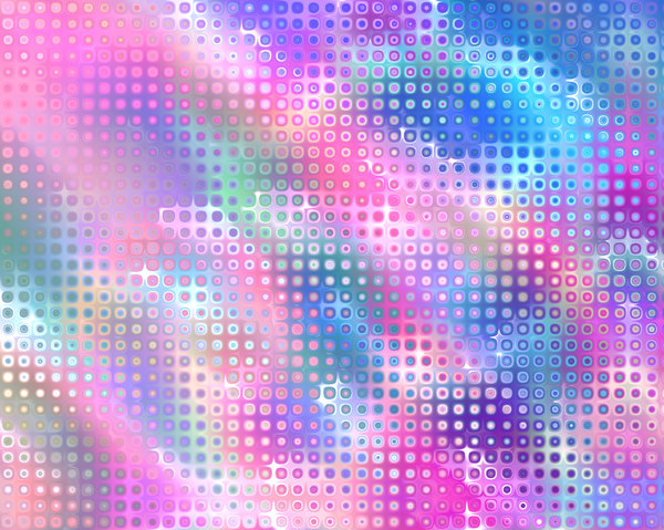 Retro Background Pink and Blue: A retro bubble background in shades of pink, blue and purple. Great fill, texture or backdrop, and useful for scrapbooking.