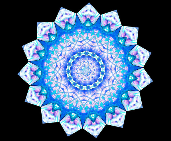 light blue lace mandala -#main