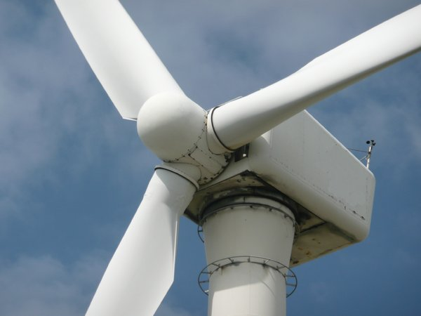 Wind Power: Windmills close ups