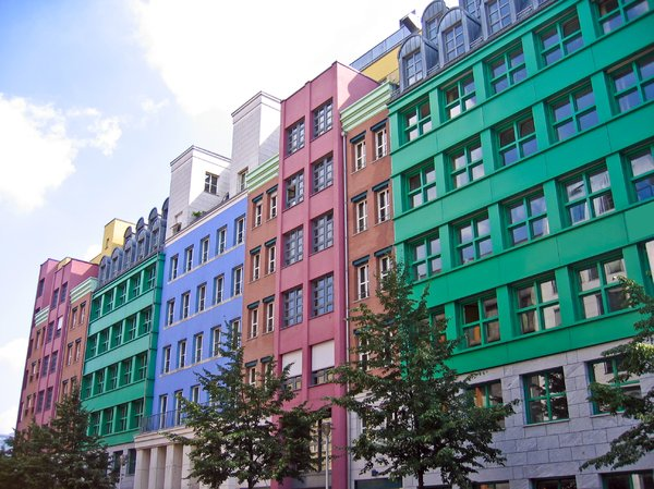 colourful facades: colourful facades