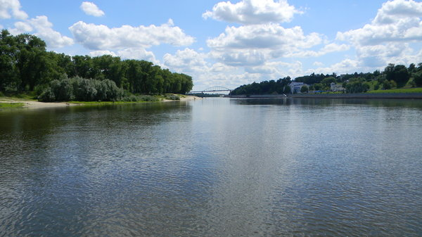 Gomel, Belarus: Some photos of the Sojh river along the park in Gomel, Belarus.