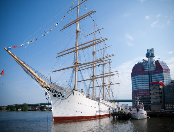 Ship Gothenburg: An old ship in the centre of Gothenburg, Sweden