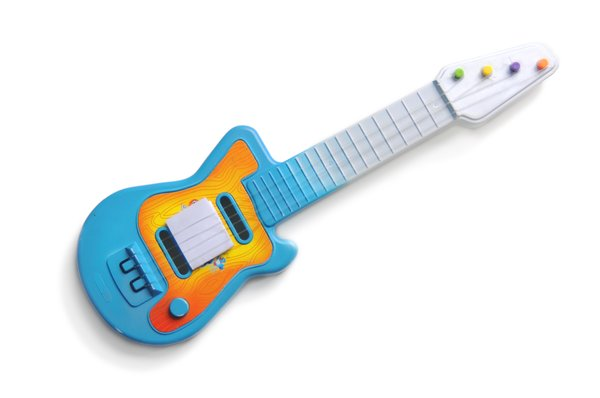guitar: small toy guitar