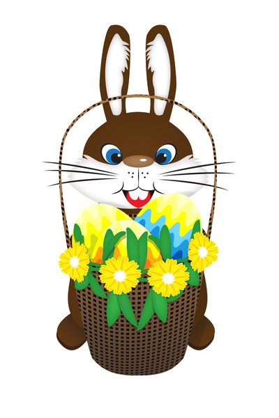 Easter Bunny: made in Adobe Illustrator CS5
